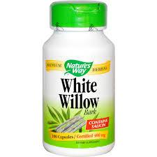 White Willow - anti-inflammatory